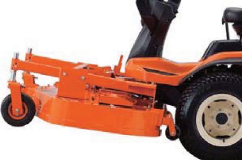 Kubota F90 Series Mower High Lift Capacity