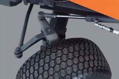 Kubota F90 Series Mower Hydrostatic Power Steering