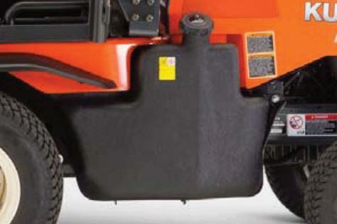 Kubota F90 Series Mower Large Capacity Fuel Tank