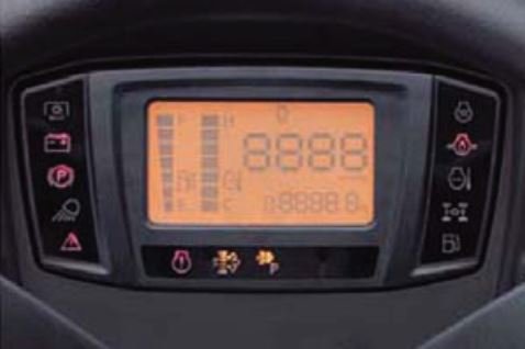 Kubota F90 Series Mower New Digital Panel