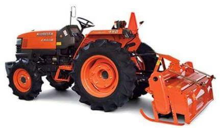 Kubota L3408 4WD Mini Tractor