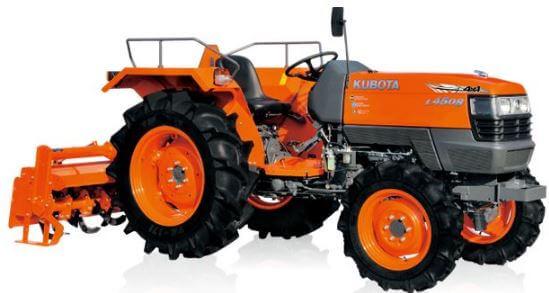 Kubota L4508 4WD Mini Tractor