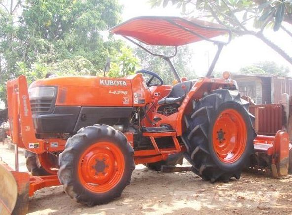 Kubota L4508 Small Tractor Specification