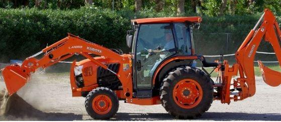 Kubota-L4760-Tractor-hydraulics-system