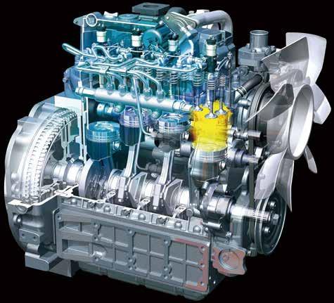 Kubota M7 131 Tractor Engine