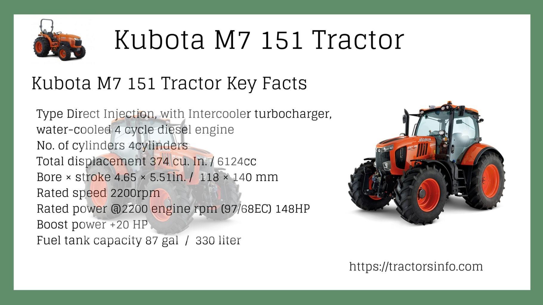 Kubota-M7-151-Tractor