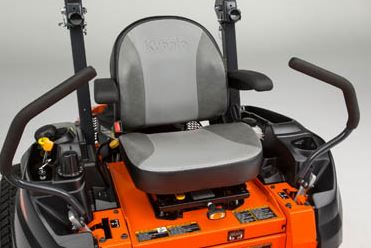 Kubota Z411KW-48 Zero-Turn Mower comfort