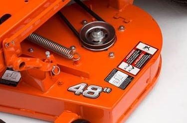 Kubota Z411KW-48 Zero-Turn Mower deck
