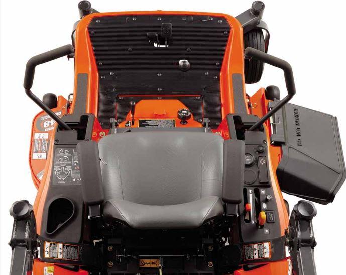 Kubota ZG222-48 Zero-Turn Mower comfort