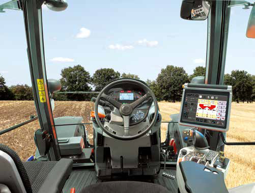M7 151 tractor Feature cabin