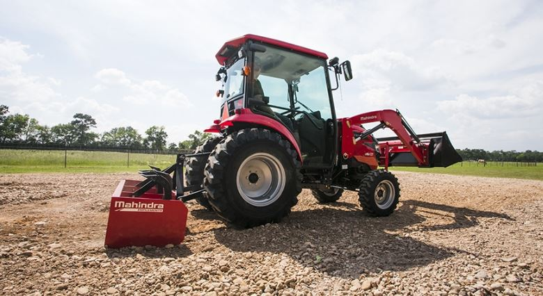 Mahindra 1640 HST CAB Compact Tractor Specifications