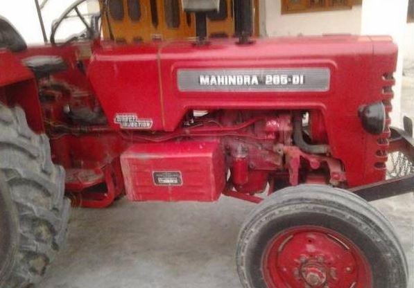 Mahindra 265 DI Tractor specs