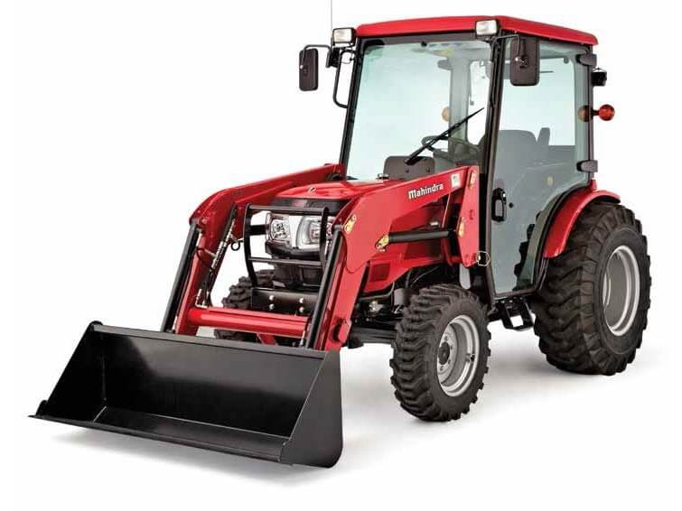 Mahindra 3540 4WD HST Cab Compact Tractor