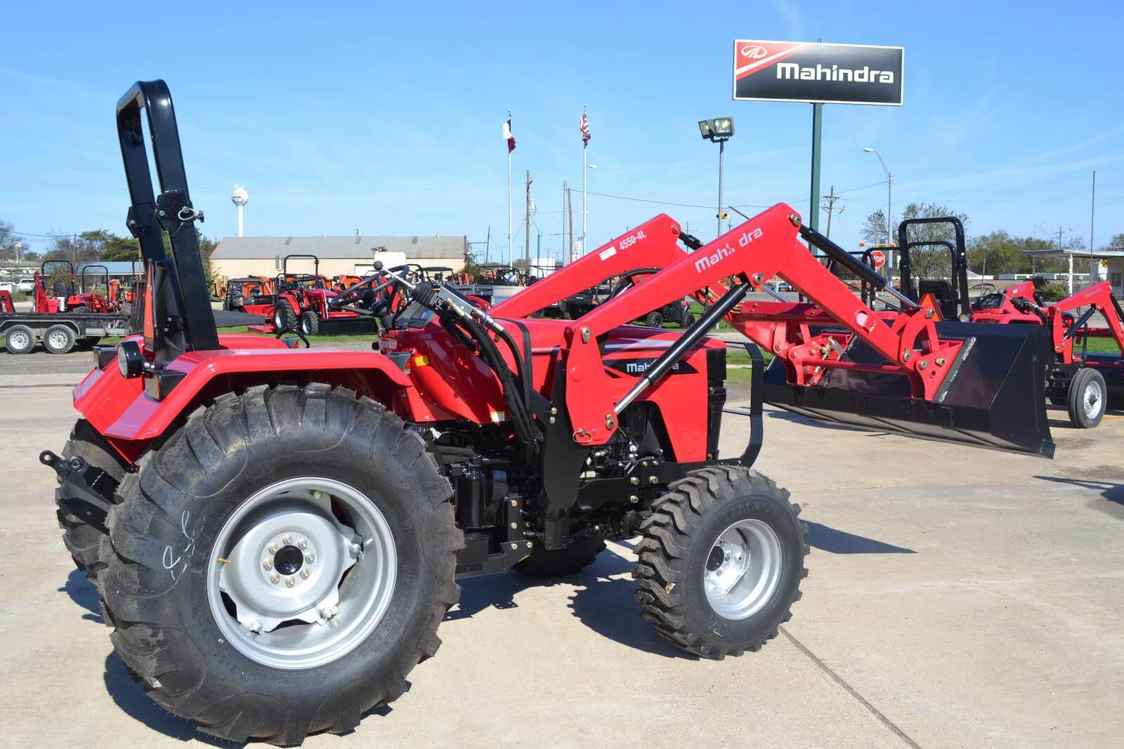 Mahindra 4540 4WD Utility Tractor