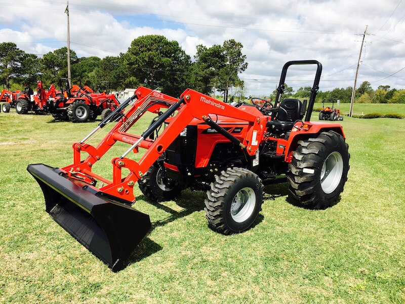 Mahindra 4550 4WD Utility Tractor