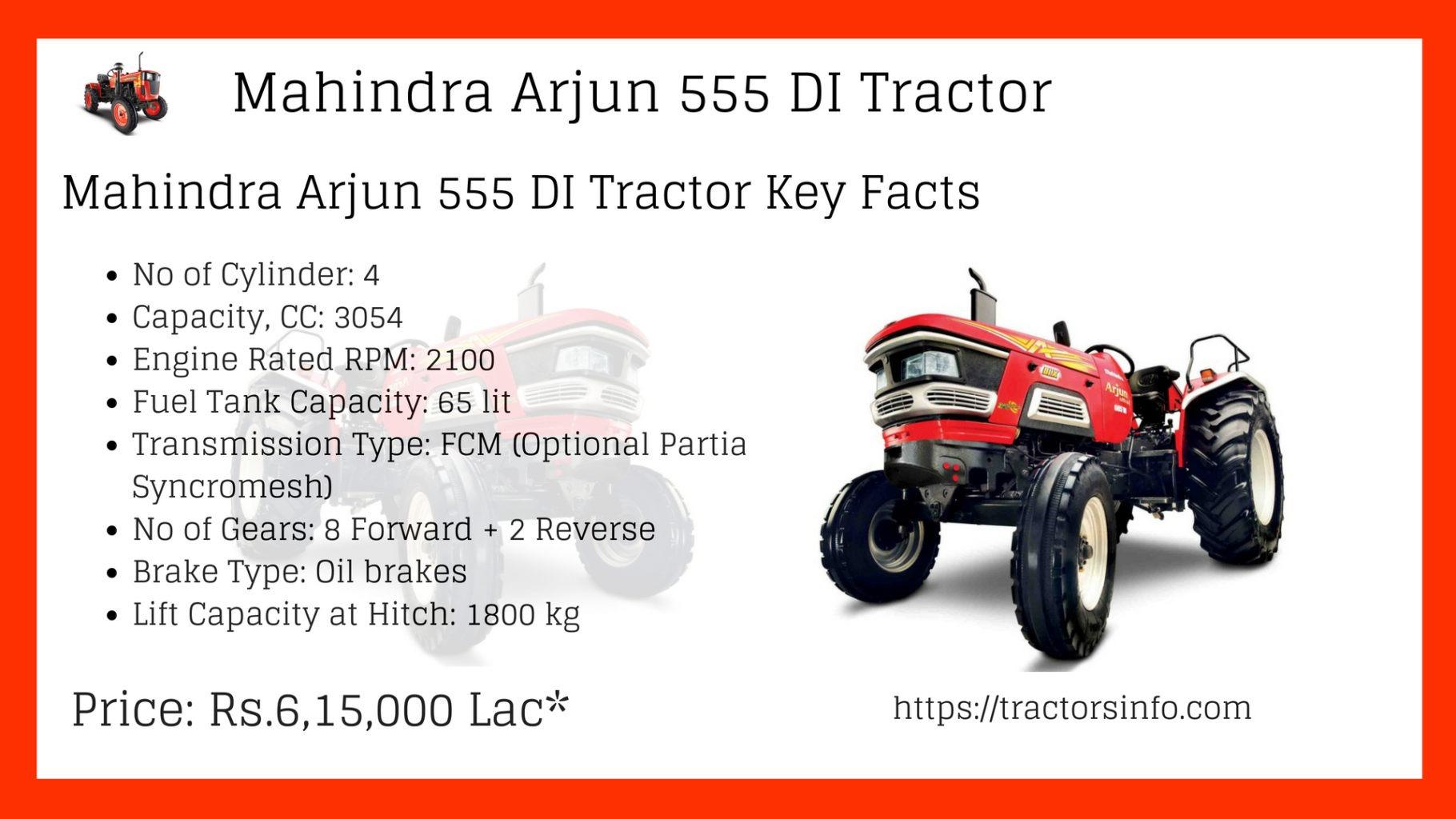 Mahindra Arjun 555 DI Tractor