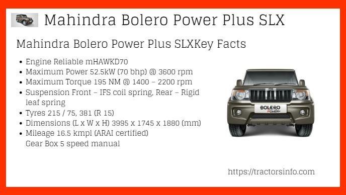 Mahindra-Bolero-Power-Plus-SLX-Price