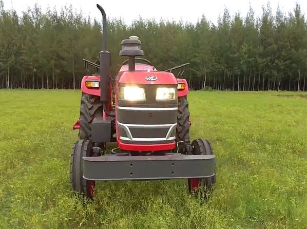 Mahindra Driverless Tractor Safety Features