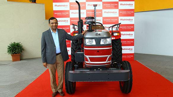 Mahindra Driverless Tractor in India