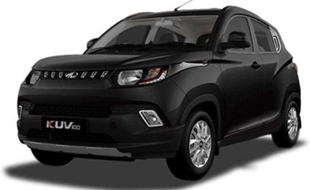 Mahindra KUV 100 Petrol Engine Car price