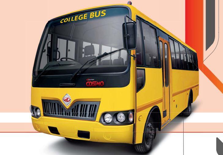 Mahindra Tourister COSMO College Bus 1