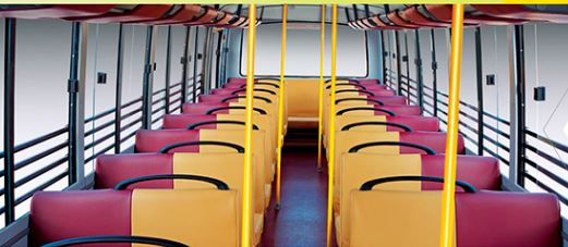 Mahindra Tourister COSMO School Bus comfort