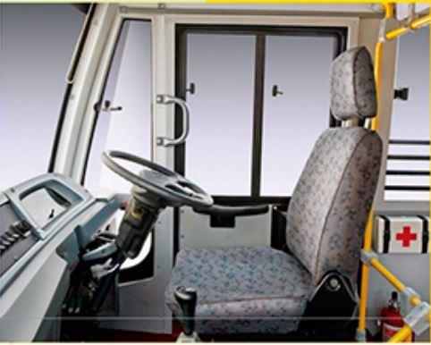 Mahindra Tourister COSMO School Bus interior