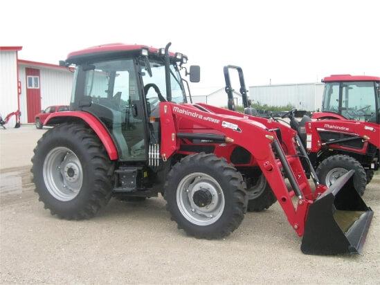 Mahindra mPower-75-P-Cab tractor
