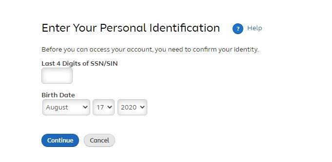Mywmtotalrewards Register step 1