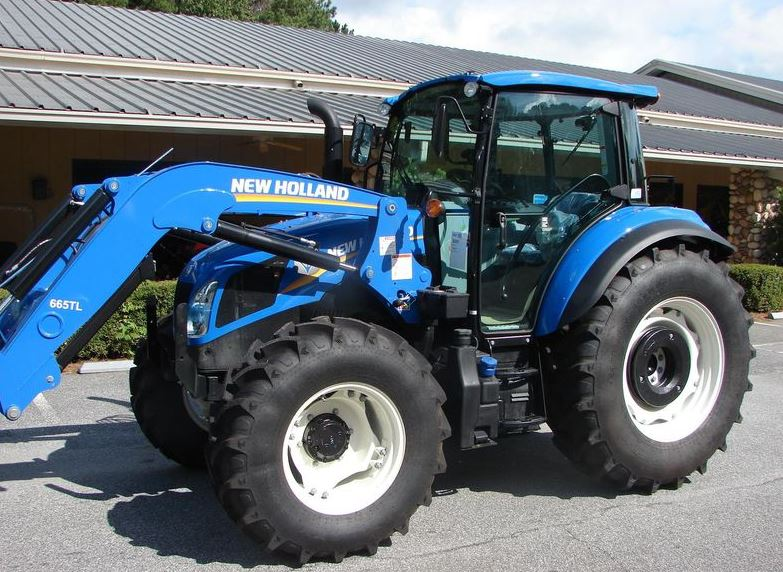 New Holland T4.110 Utility Tractor