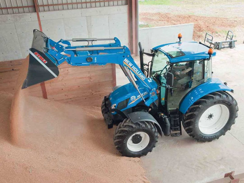 New Holland T5.95 tractor hydraulic system