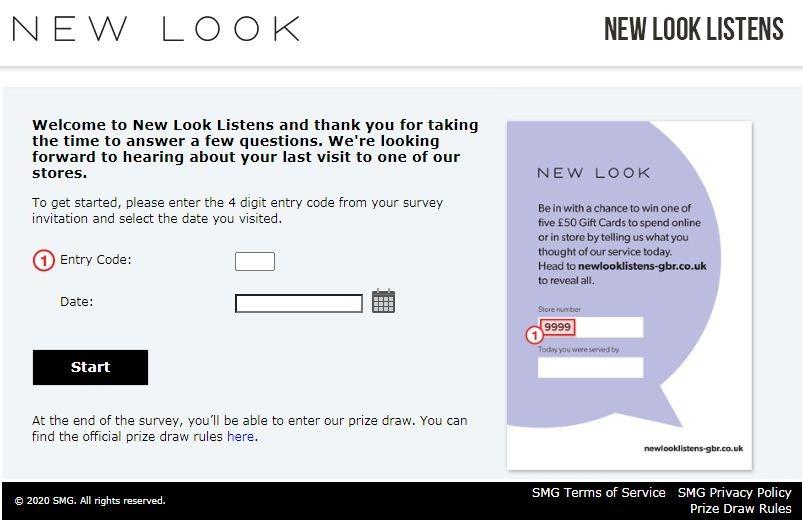 New Look Consumer Satisfaction Survey