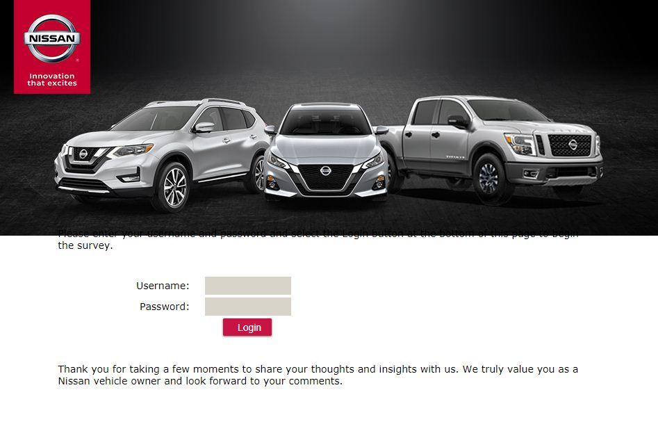 NissanGuest Survey