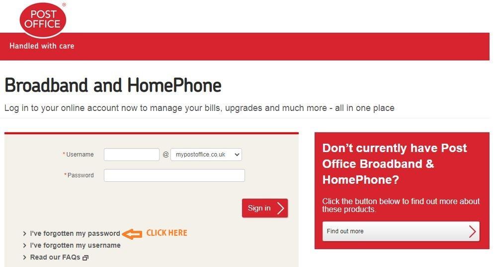 Post Office Broadband Login Www Pobroadband Co Uk