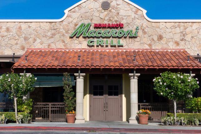 Romano's Macaroni Grill Guest Satisfaction Survey