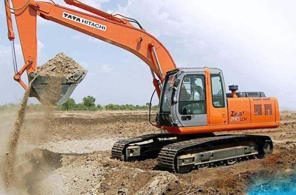 TATA Hitachi EX 210 LC Machinery price