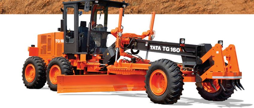TATA Hitachi Motor Graders TG 160 price in india