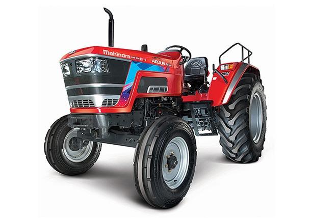 arjun_605_di_ps Tractor Model Front View