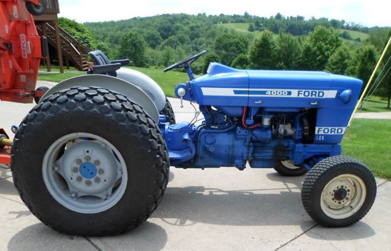 ford 4000 tractor review