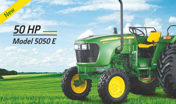 john deere 5050E 50hp model tractor
