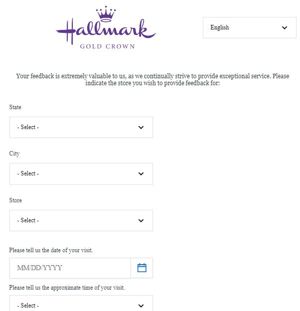 www.Hallmarkfeedback.com