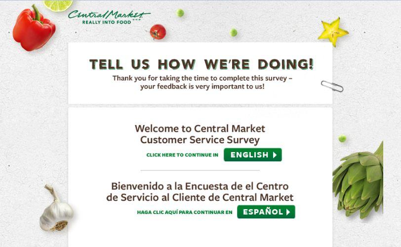www.centralmarket.comsurvey