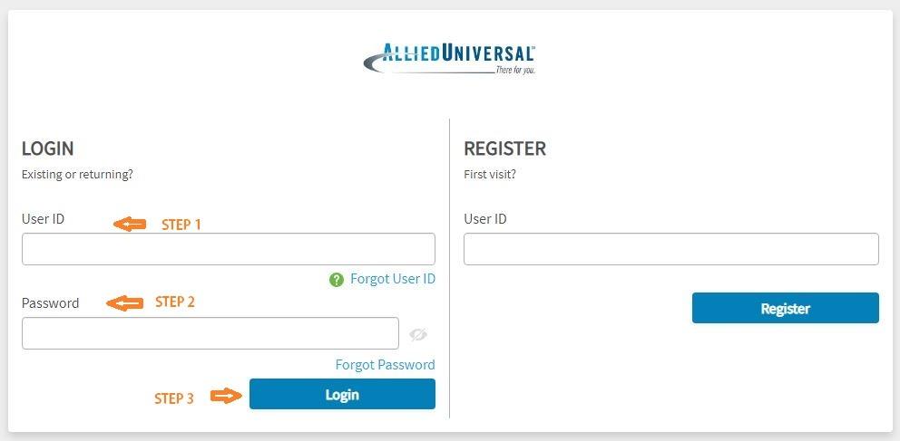 Allied Universal eHub Login