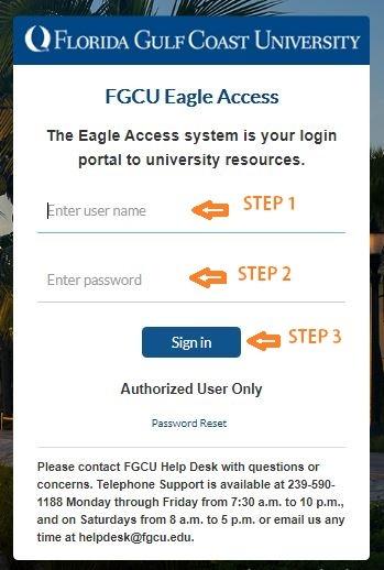 FGCU Canvas login
