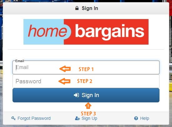 Home Bargains Portal Login