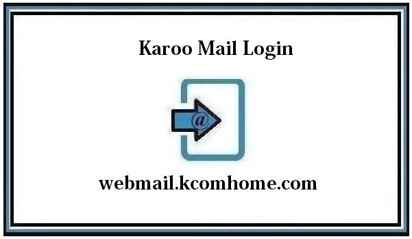 Karoo Mail Login