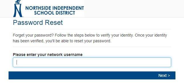 My NISD Portal login Forgot password 1