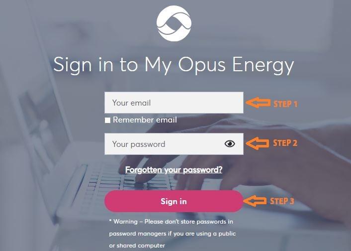 Opus Energy Login