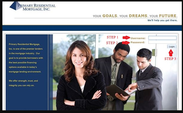 Primary Residential Mortgage Login