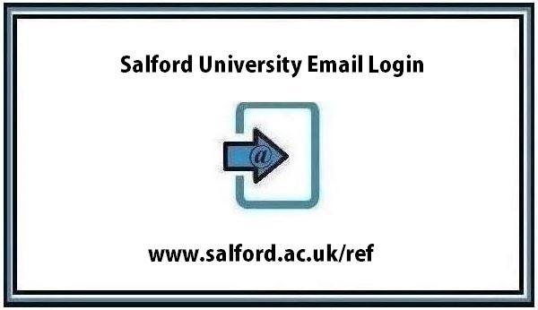 Salford University Email Login guide